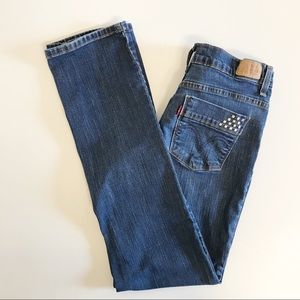 Levi's 512 Jeans 8M Perfectly Slimming Straight